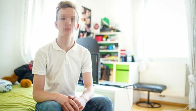Alexander G. ist seit dem Überfall im Krankenstand. (Bild: Markus Wenzel)