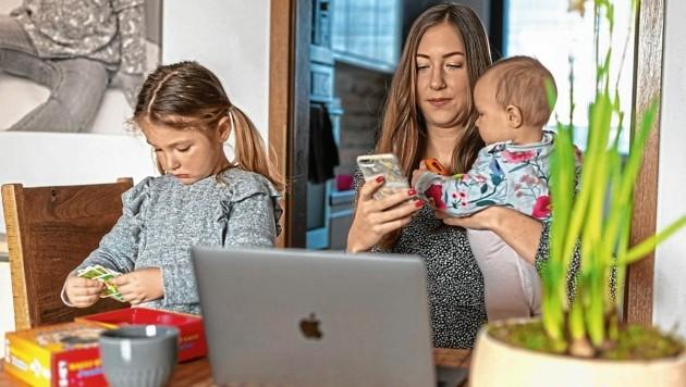Von zu Hause aus arbeiten, oder im Büro wohnen - das Homeoffice-System ist Ansichtssache und hat viele Vor- aber auch Nachteile. (Bild: Brenek Malena)