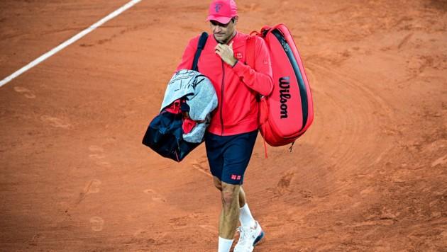Roger Federer (Bild: APA/AFP/MARTIN BUREAU)