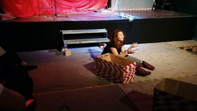 Alica Sysoeva überzeugt in der Rolle einer jungen Frau, die in die rechtsextreme Szene abrutscht. (Bild: Stegmayr Markus)