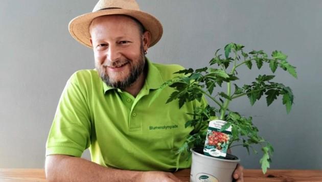 Mit den Ratschlägen von Gärtner Josef Egger gibt's eine reiche Tomatenernte. (Bild: zvg)