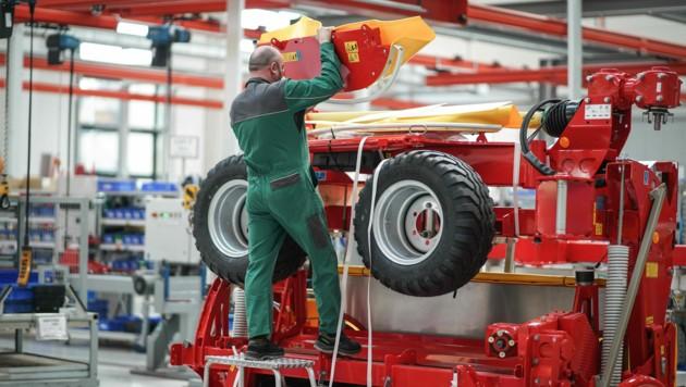 2000 Mitarbeiter sind weltweit beim Landtechnik-Spezialisten beschäftigt. (Bild: Markus Wenzel)