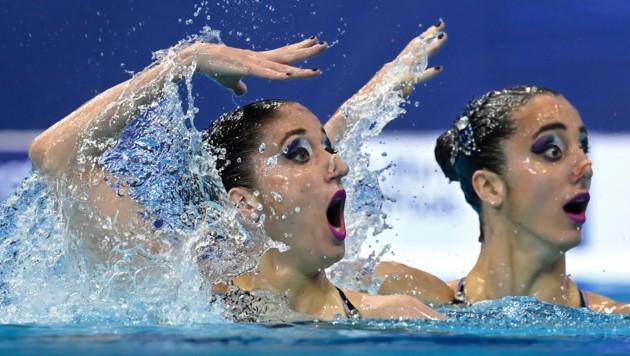 Anna Maria Alexandri und Eirini Alexandri (Bild: AP/MTI/Tamas Kovats)