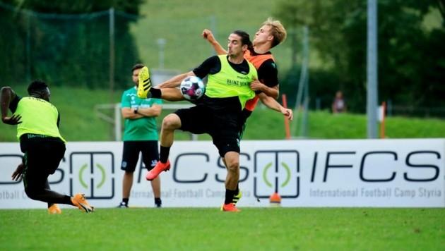 Internationale Fußballkost in der Steiermark (Bild: Fatlum Kurtaj)
