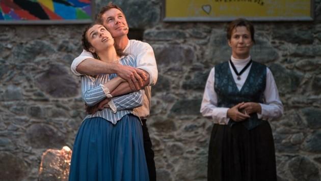 Die Sehnsüchte einer jungen Liebe anhand von Marie und Pavel. (Bild: Hannes Mallaun)