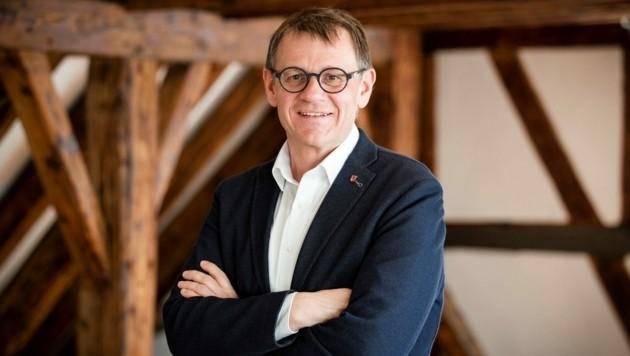 Christoph Thoma ist der Kultursprecher der VP-Landtagsfraktion. (Bild: Matthias Dietrich)