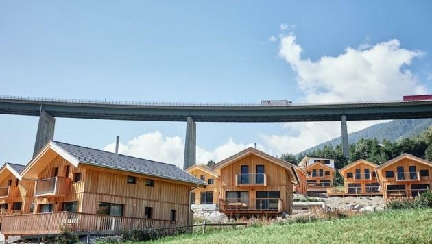 Chalets in Steinach am Brenner (Bild: Christian Horn)