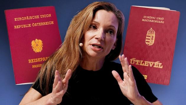 FPÖ-Nationalrats- abgeordnete und enge Kickl-Vertraute Susanne Fürst ist von Beruf Rechtsanwältin, hat in dieser Funktion geschäftlich auch viel mit Ungarn zu tun. (Bild: APA/GEORG Hochmuth, stock.adobe.com)