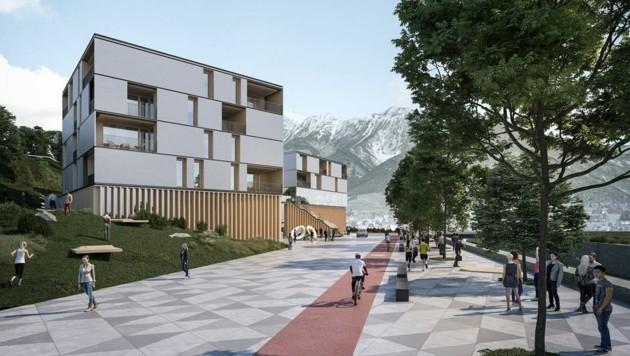 Architekt David Pasek plante das Projekt bereits 2017. Nächstes Jahr könnte gebaut werden. (Bild: Architekt David Pasek)