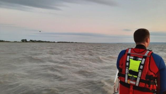 Am Sonntag gab es mehrere Einsätze auf dem Neusiedler See (Bild: FF Weiden am See)