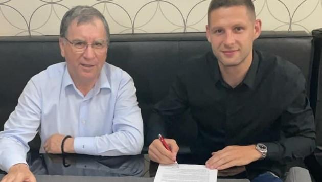 Stipe Vucur unterschrieb für drei Jahre beim Bukarester Rekordmeister. (Bild: FCSB)