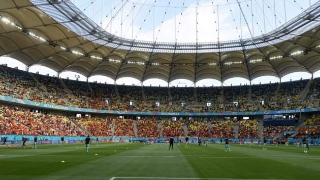Das Bukarester Nationalstadion, in dem Österreich bei der EM zwei Auftritte hat, ist die neue sportliche Heimat von Vucur. (Bild: DIENER/Hochzwei)