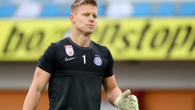 Austria-Wien-Goalie Patrick Pentz (24). (Bild: GEPA pictures/ Christian Walgram)