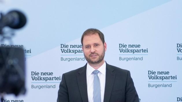 Christian Sagartz (Bild: Sebastian Steiner, Volkspartei Burgenland)