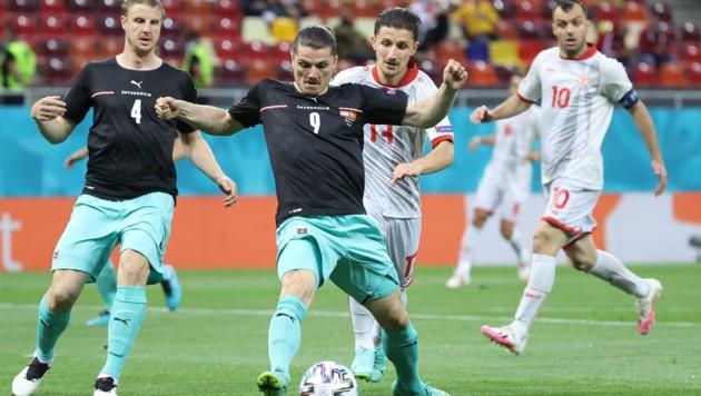 Sabitzer spielte gegen Nordmazedonien bärenstark. (Bild: GEPA pictures)