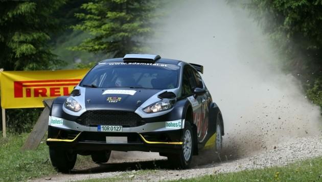 Gerwald Grössing feiert ein Kurz-Comeback in der Rallye-Staatsmeisterschaft (Bild: Peter Tomschi)