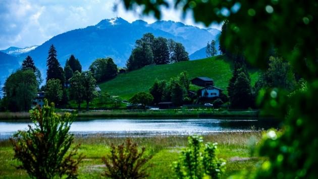 Die Badesaison in Goldegg kann endlich beginnen: Die Gemeinde wird neuer Pächter des Sees. (Bild: Gerhard Schiel)