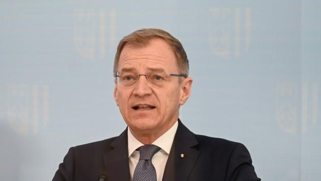 Landeshauptmann Thomas Stelzer (ÖVP) (Bild: Alexander Schwarzl)