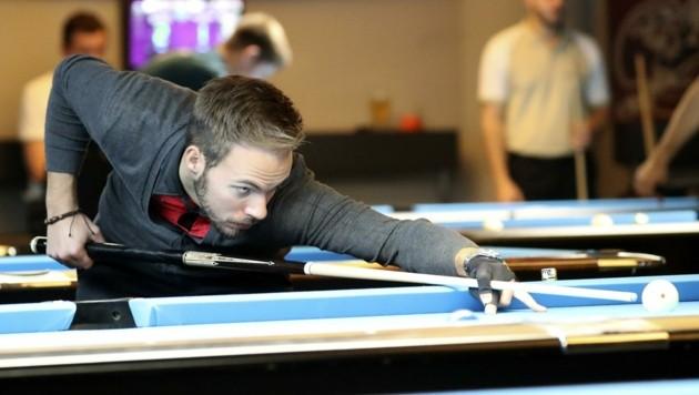 Weltmeister Albin Ouschan spielt in St. Johann (Bild: ANDREAS TRÖSTER)