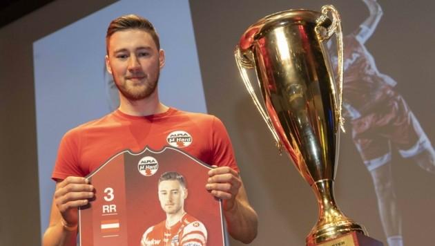 Mit nur 23 beendet Konrad Wurst überraschend seine Handball-Karriere, um sich künftig aufs Studium zu konzentrieren. (Bild: Maurice Shourot)