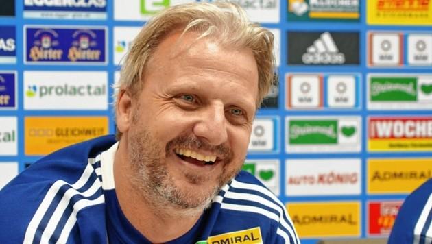 Markus Schopp kann einen Neuzugang begrüßen. (Bild: Sepp Pail)