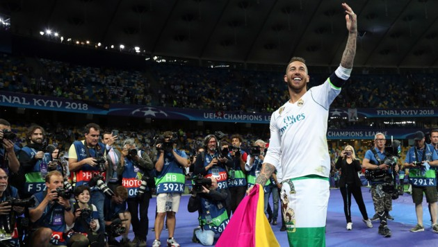 Sergio Ramos (Bild: Copyright 2018 The Associated Press. All rights reserved.)