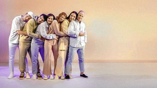 Das Ensemble des Grazer Next Liberty (Bild: Stella)