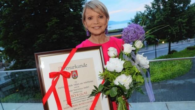 Schauspielerin, Legende und Botschafterin: Uschi Glas (Bild: Rojsek-Wiedergut Uta)