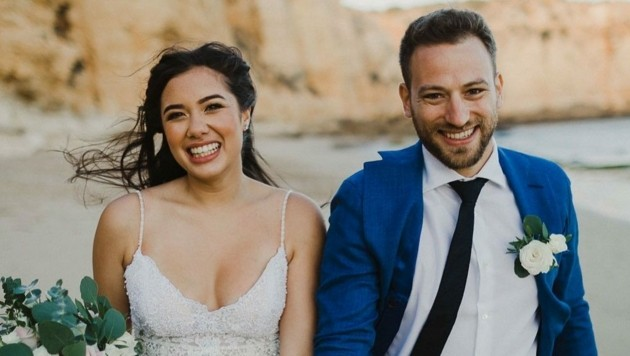 Caroline Crouch (20) heiratete ihren späteren Mörder Charalambos Anagnostopoulos (33). (Bild: instagram.com/flying.babis)