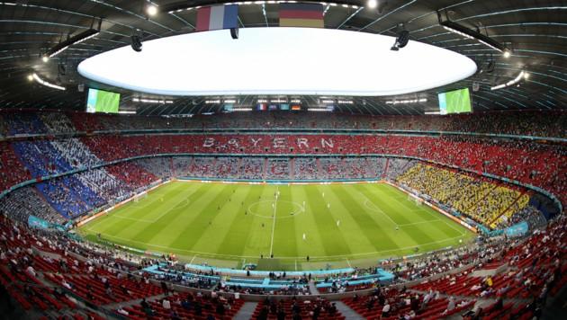 Die Allianz Arena in München (Bild: AP)