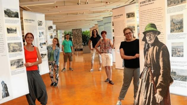 Die Ausstellung wurde gemeinsam mit Studierenden gestaltet. (Bild: Rojsek-Wiedergut Uta)