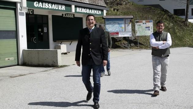 Gaißau-Retter Berthold Linder (li.) geht, Bernhard Eibl will nun alleine weiter arbeiten (Bild: Tröster Andreas)