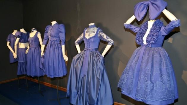 Dirndl - Tradition goes Fashion im Marmorschlössl Bad Ischl (Bild: Marion Hörmandinger)