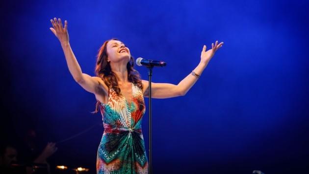 Daniela Dett bei der Musicalgala (Bild: Philip Brunnader)