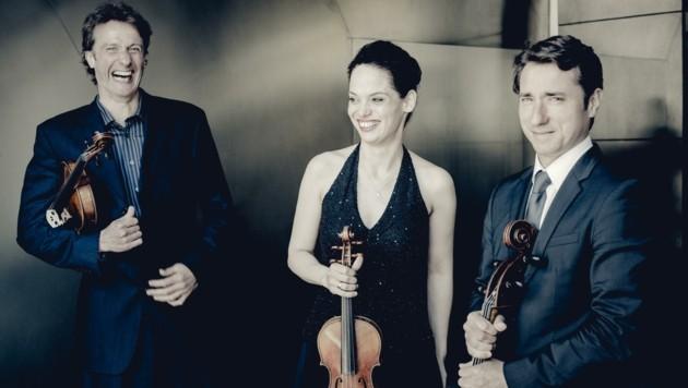 Die beliebten Sommerkonzerte im Imster Laurentiuskirchlein starten mit dem Kreisler Trio. (Bild: Andrej Grilc)
