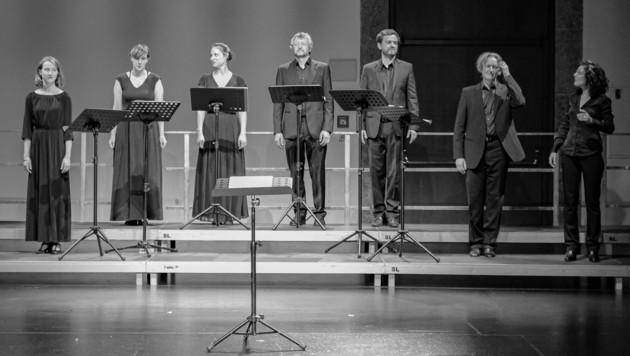 in in allen Lagen hervorragend besetztes Vokalensemble Cantando Admont unter Leitung von Cordula Bürgi konnte im Rahmen des Osterfestivals das Publikum überzeugen. (Bild: Gratl Franz)