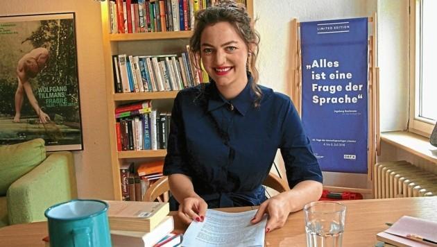 """""""45. Tage der deutschsprachigen Literatur"""" - Ingeborg-Bachmann-Preis 2021: Dana Vowinckels Text findet Gefallen (Bild: ORF)"""