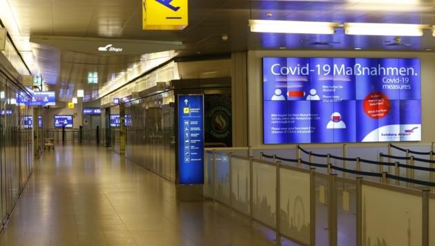 Am Salzburg Airport kehrt nur langsam wieder Leben ein (Bild: Tschepp Markus)