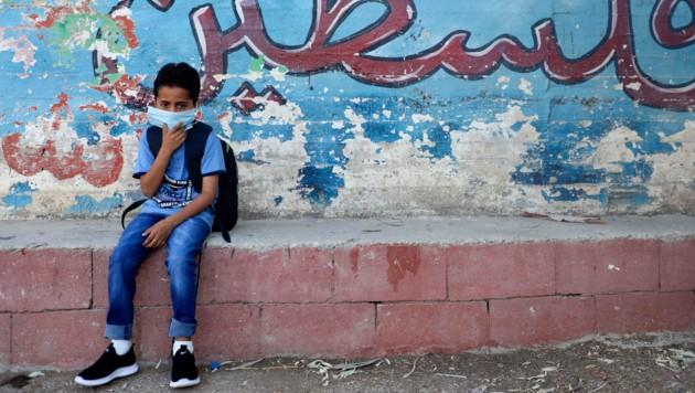 Für den neuerlichen Ausbruch des Virus wird die sogenannte Delta-Variante verantwortlich gemacht. (Bild: AFP/JAAFAR ASHTIYEH)