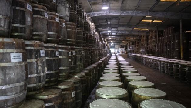 Hier reift die Paprikapaste in Holzfässern - wie schon vor mehr als 150 Jahren. (Bild: 2019 Getty Images)
