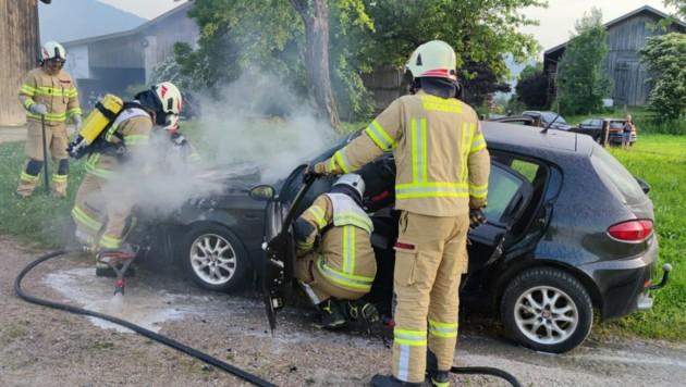 Die Feuerwehr konnten den Brand löschen. (Bild: zoom.tirol)