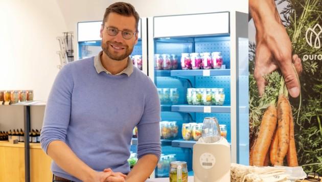 In Wien betreibt Heinz Pöttinger mit seiner Marke ein eigenes Geschäft. (Bild: Purora)
