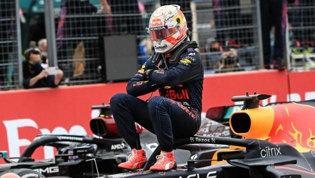Max Verstappen (Bild: APA/AFP/CHRISTOPHE SIMON)