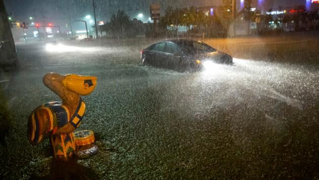Große Teile Alabamas wurden von Tropenstürmen heimgesucht. (Bild: AP)