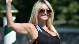 TV-Dame Paola Ferrari (Bild: AFP)
