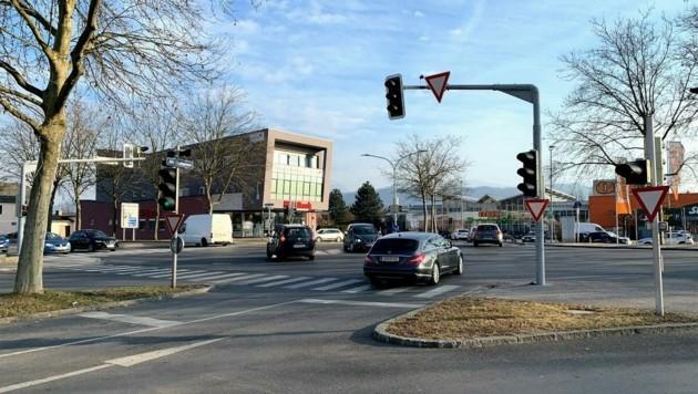 Die Packer Straße soll durch die Ostspange entlastet werden. (Bild: Wassermann Kerstin)