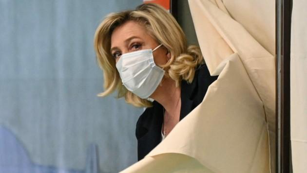 Marine Le Pens Partei büßte zuletzt rund 30 Prozent ihrer Wähler ein. (Bild: AFP)