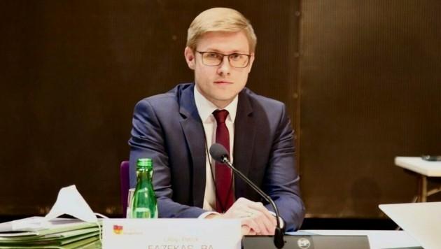 Patrik Fazekas wird moderieren. (Bild: Grammer Karl)