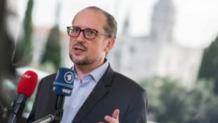"""Strafmaßnahmen müssen für Außenminister Schallenberg """"wasserdicht"""" und """"begründet"""" sein. (Bild: APA/BMEIA/MICHAEL GRUBER)"""