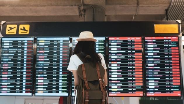 Gestrichen - im Pandemie-Jahr fielen Tausende Flüge aus. (Bild: stock.adobe.com)